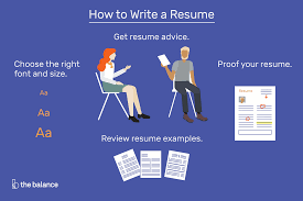 Preparing A Resume How To Write A Resume That Will Get You An Interview