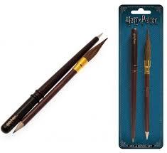 official harry potter wand pencil pen set brand new fast uk dispatch