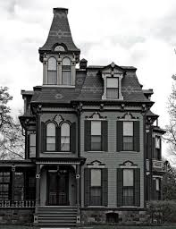 Understanding The Gothic Revival Homes Addams Family House Victorian Houses  For In Or Afae A ...