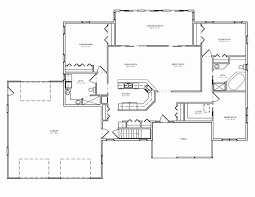 3 bedroom ranch style home with bonus room above garage house plans