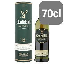 glenfiddich 12yo malt 70cl