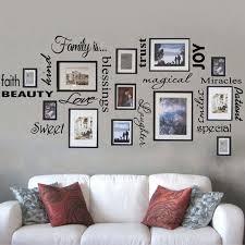 wall art family room