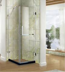 5 16 3 8 thick safety tempered glass square shower door 800 x 800 mm