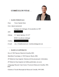 Ejemplo De Curriculum Vitae En Word Bonito Formato De Curriculum Vitae Simple Gratis Friso Ejemplos De