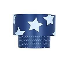 star design lighting. kids star design 2 tier easy fit ceiling light shade boys girls bedroom lighting