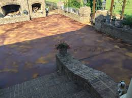 stained concrete patio gray. Diy Concrete Acid Stain Best Ideas Of How To Patio Stained Gray O