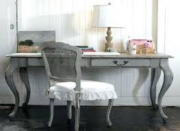 shabby chic office desk. Decoration: Shabby Chic Office Desk Chair Swivel Furniture Grey