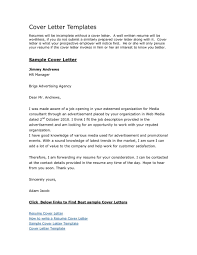 Cover Letter Sample Free Download Resume Examples