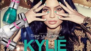 kylie jenner launching 20 piece nail polish collection with sinfulcolors