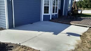 plain concrete patio. Modren Concrete Slider 45 18  On Plain Concrete Patio
