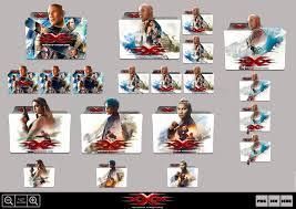 xXx Return of Xander Cage Icon folders. Heavenly Man Vin.