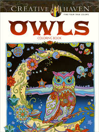 Owls Dover Cover Gallery Jpg Marjorie Sarnat Coloring Pages