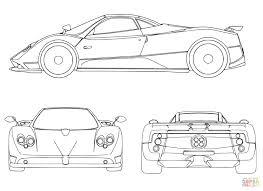 Disegno Di Auto Sportiva Da Colorare Disegni Da Colorare E Con