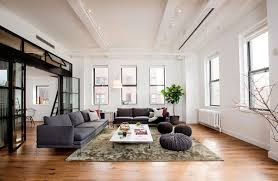 Nyc Living Room East Village Loft This Nyc Apartment Was Once A Small Hospital