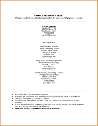 Esume Reference Template Resume References Nardellidesign For