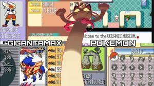 New Update - Pokemon Sword & Shield GBA ROM Hack with Gigantamax Pokemon,  Gen 8 & More! - YouTube