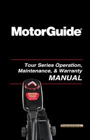 owners manual instructions for products motorguide tour instructions manual
