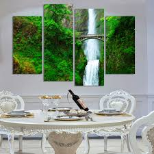 mountain painting bedroom  pieces canvas painting wall art deco modern mountain spring landscape