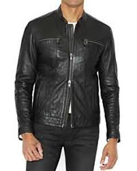 Superdry New Hero Leather Racer Jacket Bloomingdales