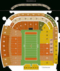 Texas Dkr Memorial Stadium Seating Chart Dkr Seating Chart Darrell K Royal Texas Memorial Stadium Map