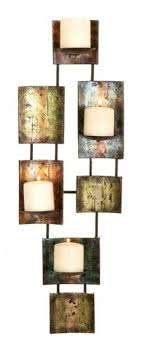 Modern wall candle holder