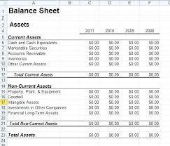 Excel Balance Sheet Template In Regarding Best Format Example Free ...