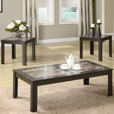 Coffee Table:Fabulous Coffee Table Sets Ottoman Coffee Table Modern End  Tables Glass Top Coffee