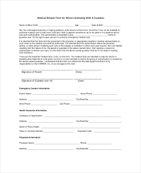 Medical Release Form Sample 100 Medical Release Forms Free Sample Example Format Free 2