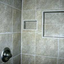 shower shelf tile shelves for dc metro by bathroom recessed after