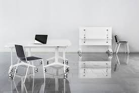 office tables on wheels. Unique Office Savio 227r White Table With Wheels Ideal For Office On Office Tables Wheels