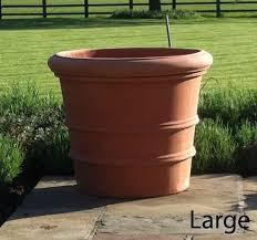 tall terracotta planter. Contemporary Planter Big Terra Cotta Pots   Large Terracotta The Florentine Italian  Planter Is For Tall Terracotta Planter L