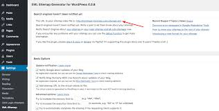 wordpress xml sitemap url