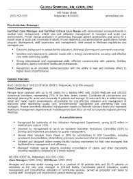 How To Write A Basic Resume For A Job Mesmerizing Case Manager Resume Template Sample Example Job Description CV