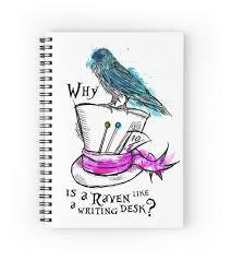 when is a raven like a writing desk inspirational why is a raven like a writing