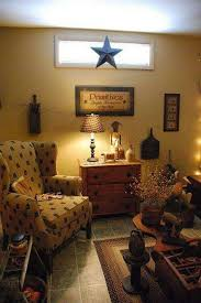 primitive living room furniture. Primitive Living Room Furniture With Wingback Chair And Dresser Wooden Rooms