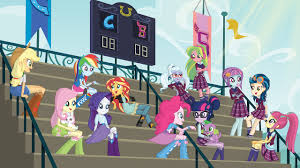 Equestria Girls Character Designs My Little Pony Equestria Girls Friendship Games Netflix