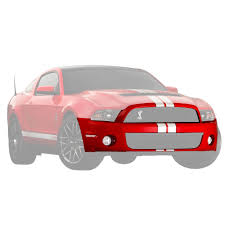 Ford AR3Z-17D957-ADPTM Mustang Front Bumper Cover Unpainted 2010 ...