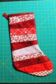 Christmas Stocking Tutorial | Stockings, Tutorials and Easy & Quilt-as-you-go Christmas stocking tutorial Adamdwight.com