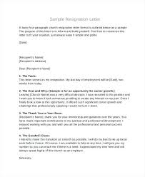 Samples Resignation Letter Church Board Resignation Letter Sample ...