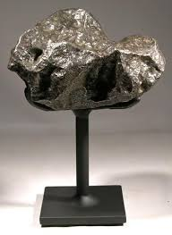 Rock Display Stands Custom Campo De Cielo Meteorite Custom Display Stand Front Magic