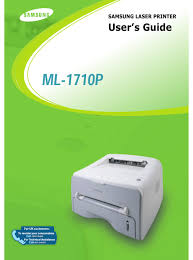 شرح تثبيت تعريفات سامسونج samsung usb driver: Samsung Ml 1710p User Manual Pdf Download Manualslib