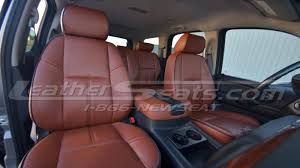 2007 2009 chevy tahoe leather seat covers custom mitt brown interior new