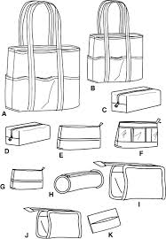 Tote Bag Sewing Pattern Amazing Simplicity 48 Tote Bag
