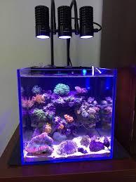 marine led light c sps lps grow mini nano aquarium sea reef tank white blue purple hang on bend fix in lightings from home garden on aliexpress com