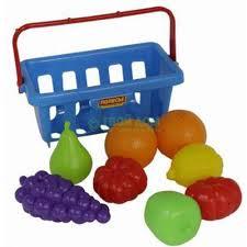 <b>Игровой набор Palau</b> Набор продуктов с корзинкой №2 ...