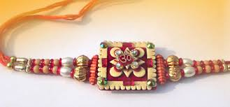 Image result for homemade rakhi