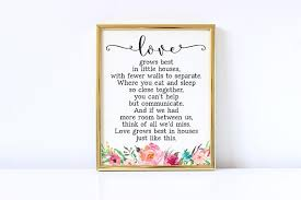 Small Picture Little Houses Lyrics Love grows best in little houses