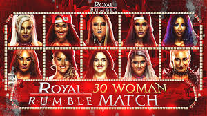 WWE 30 Women's Royal Rumble 2021 Custom Match Card by VRENDERSWWE on  DeviantArt