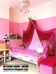 Full Size Bed Canopy Cover Pink Gold Image For Home Improvement ...