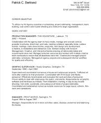 Manufacturing Supervisor Resume Production Supervisor Manufacturing